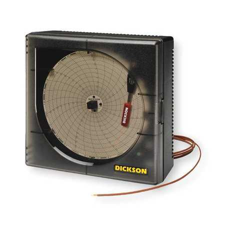 Circular Chart Recorder, Temperature, 6 In
