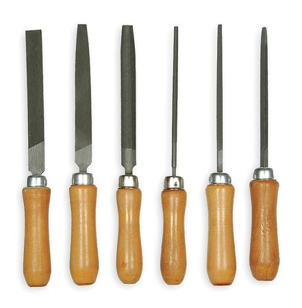 Bastard Cut File Set, 6 PC