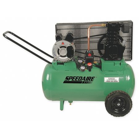 Air Compressor, 2.0 HP, 120/240V, 135 psi
