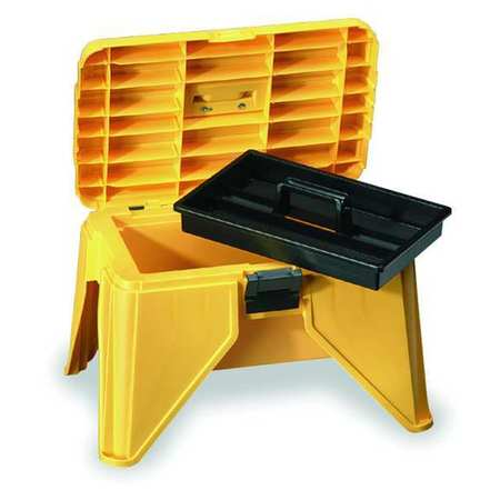 "Step Stool Storage Box,  21-5/8"" W x 15"" L x 13-1/4"" H"
