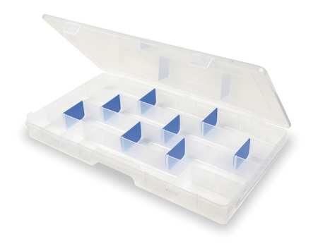 "Adjustable Compartment Box,  16-1/2"" W x 9"" L x 1-1/2"" H"