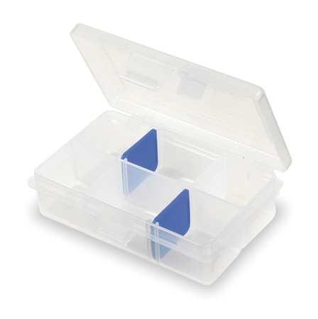 "Adjustable Compartment Box,  4-5/8"" W x 3-3/8"" L x 1-1/4"" H"