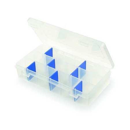 "Adjustable Compartment Box,  7"" W x 4-1/8"" L x 1-1/2"" H"