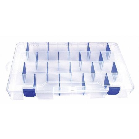 "Adjustable Compartment Box,  14-1/4"" W x 9-1/8"" L x 2"" H"