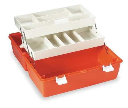 "First Aid Storage Case,  11-1/2"" W x 19"" L x 10-1/2"" H"