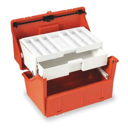"First Aid Storage Case,  11-1/2"" W x 19-1/2"" L x 11-3/4"" H"