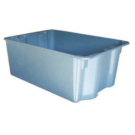 Stacking & Nesting Container, HD, Gray