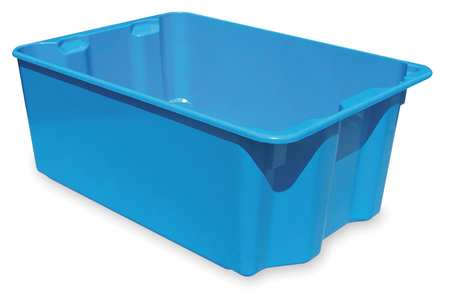 Stacking & Nesting Container, HD, Blue