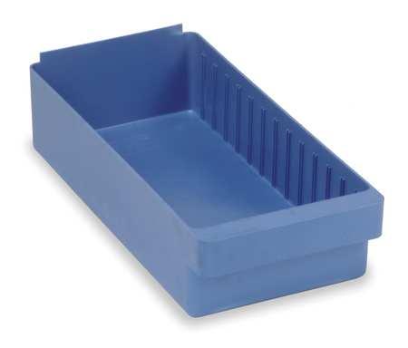Drawer Bin, 17-5/8 x 8-3/8 x 4-5/8In, Blue