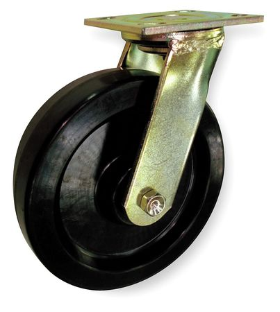 Swivel Plat Castr, Phnolc, 3-1/4 in, 700 lb