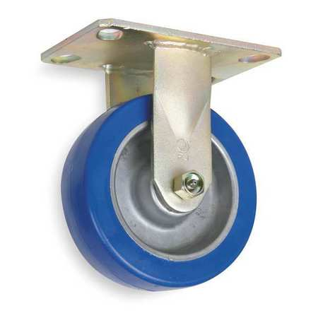 Rigid Plate Caster, Poly, 8 in., 1750 lb., A