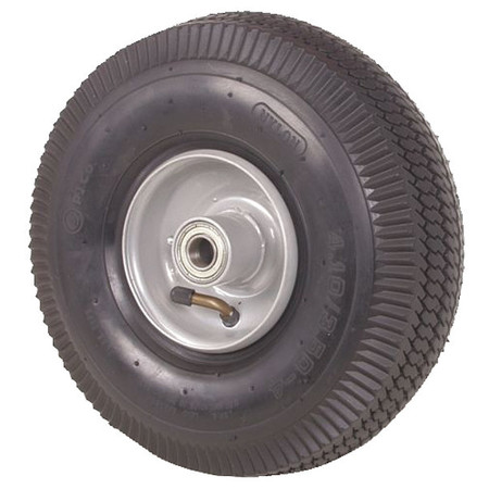 Pneumatic Wheel, 10 In, 230 lb