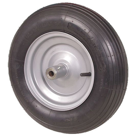 Pneumatic Wheel, 16 In, 670 lb