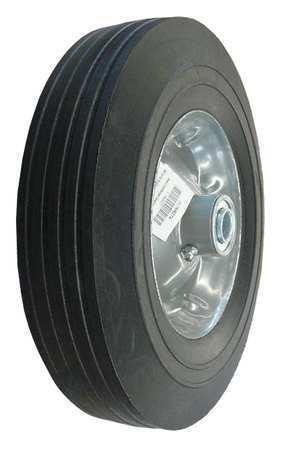 Solid Rubber Wheel, 10 in., 450 lb., Sym