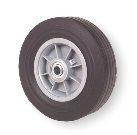 Solid Rubber Wheel, 8 in., 400 lb., Offset