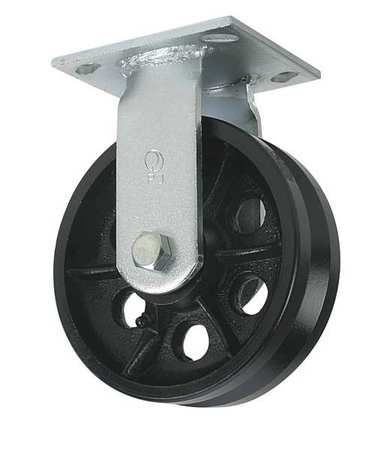 V-Grve Rgd Castr, Cst Irn, 4 in., 800 lb., B
