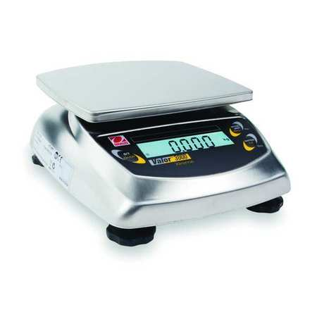 Digital Compact Bench Scale 4.4 lb./2kg Capacity