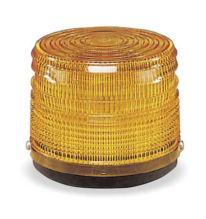 Warning Light, Strobe Tube, Amber, 12VDC