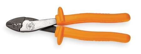 "Crimper, Insulated, 22 to 10 AWG, 9-3/4"" L"