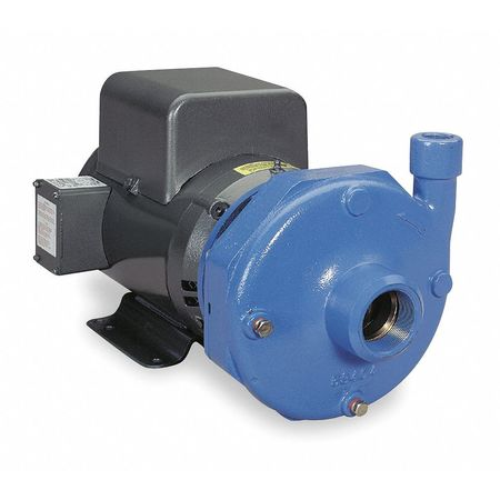 Cast Iron 7-1/2 HP Centrifugal Pump 230V