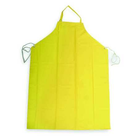 Bib Apron, Yellow, 45 In. L