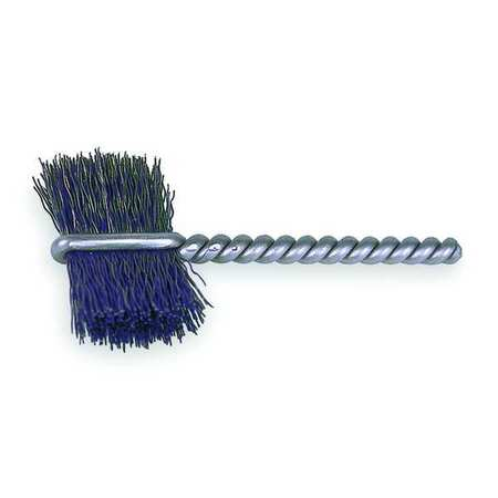Burrite Tube Wire Brush,  Carbon Steel,  PK10
