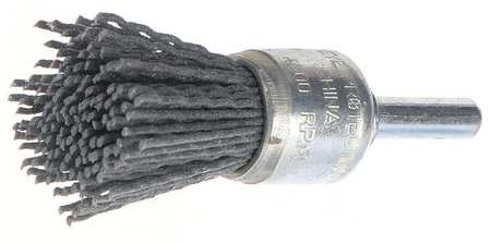 "End Wire Brush,  3/4"",  4,  500 RPM"