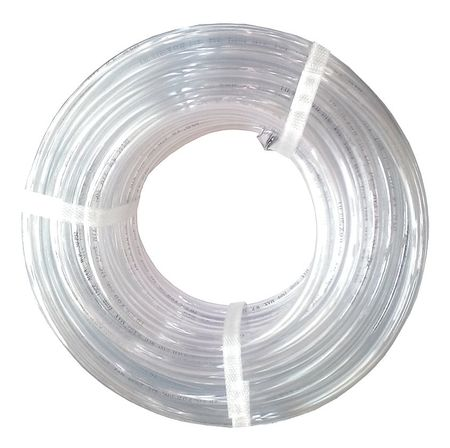 Tubing, 5/16 I.D., 100 ft., Clear, Flexible