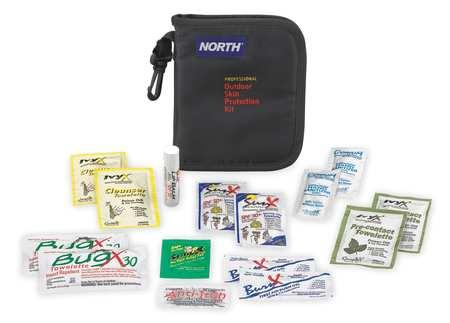 First Aid Kit, Bulk, Black, 16 Pcs, 1 People