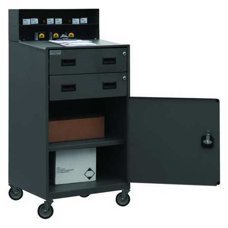 Shop Desk, 23 x 51 x 20 In, Gray