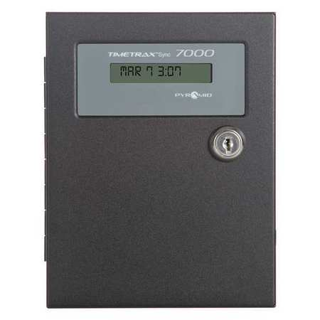 "6-3/8"" Digital Master Controller Wall Clock,  Beige"