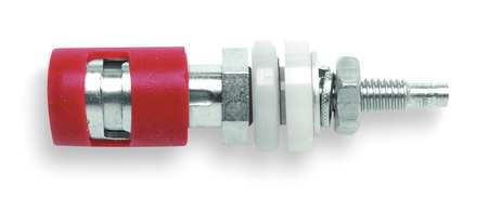 Spring-Loaded Binding Post, 15A, 2 In. L