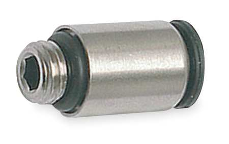 Male Conn, 6mm OD x1/8 NPT Thread, PK10