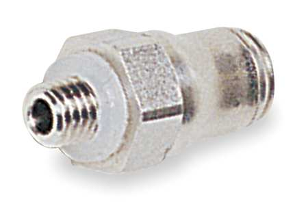 "1/8"" x 5/32"" Tube x Male BSPP SS Male Connector PK 2"
