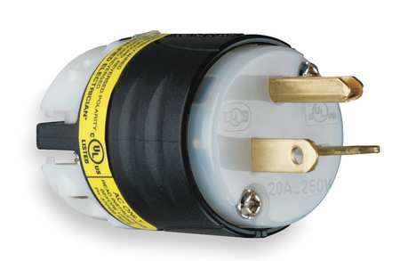 Ground Monitoring Plug, 6-20P, 20A, 250VAC