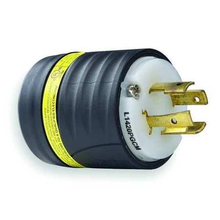 20A Ground Monitoring Plug 3P 4W 125/250VAC