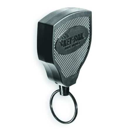 Key Reel, 48 In, Kevlar(R) Cord, Belt Clip