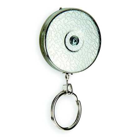 Key Reel, 24 In Stainless Steel Chain