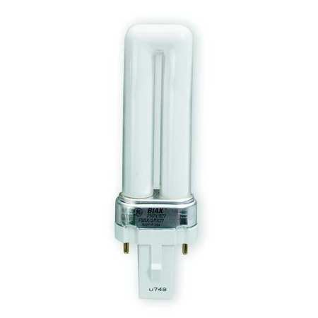 GE LIGHTING 7.0W,  T4 PL Plug-In Fluorescent Light Bulb