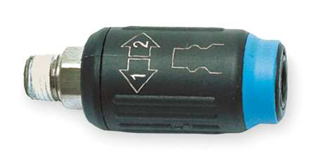 Coupler, 1/4, Glass Reinforced Nylon