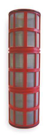 "Filter Screen, Red, 14-5/8"" Length"