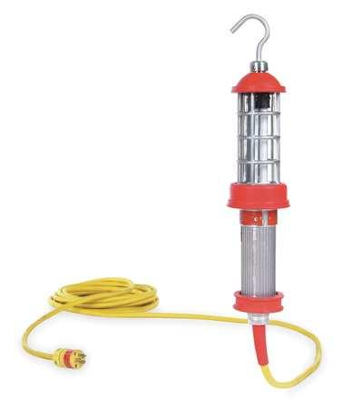 DANIEL WOODHEAD Fluorescent Red Hazardous Location Hand Lamp