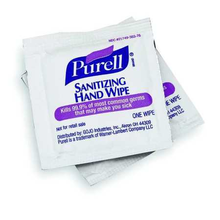 "Hand Sanitizing Wipes,  5 x 7"",  1000 Wipes"