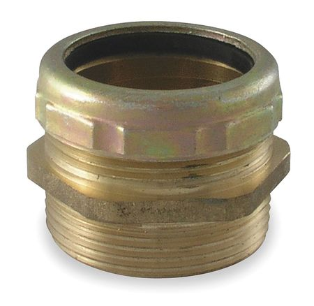 Waste Connector, Brass, 1 1/2 In