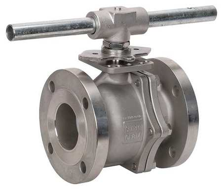 "3"" Flanged Stainless Steel Ball Valve Inline"