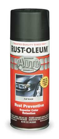 Auto Body Paint, Black, 12 oz.