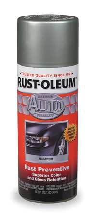 Auto Body Paint, Silver Metallic, 11 oz.