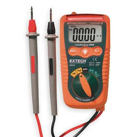 Pocket Digital Multimeter, 200mA