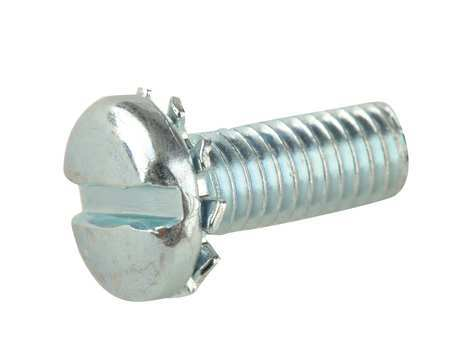 "#10-32 x 1/2"" Pan Head Slotted Machine Screw,  100 pk."