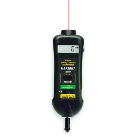 Laser Tachometer, 0.5 to 20, 000 rpm